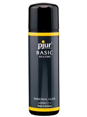 Anal Vaginal Silicone Lubricant Lube Personal Glide Pjur Basic 250ml