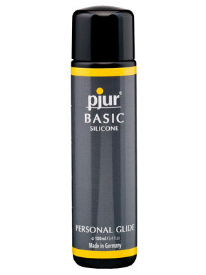 Anal Lubricant Vaginal Lube Personal Silicone Glide Pjur Basic 100ml
