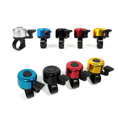 Metal&Plastic Ring Bell Horn Fit For Bike Bicycle Cycling Safety 5 Color