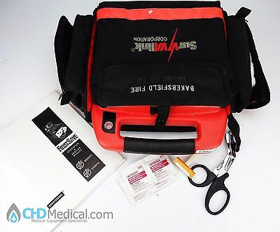 Survivalink FirstSave AED Unit w/ Pads and Case