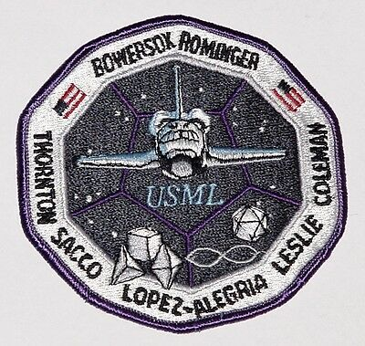 Aufnäher Patch Raumfahrt NASA STS-73 Space Shuttle Columbia ..........A3060