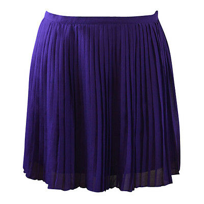 New J Crew Accordion Pleated Skirt Violet Size 6