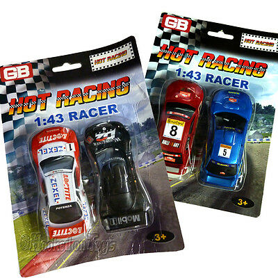 Golden Bright - Two (2) Replacement Cars for Slot Car Set 1:43 Scale - 203