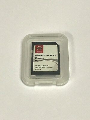 Oem Nissan Connect Lcn1 Sd Card Europe V7 2017 Latest Quashqai Cube Juke
