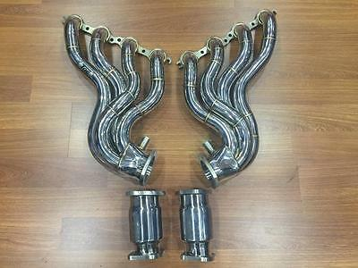 Ve Vf Hsv V8 1 7/8 Stainless Extractors /headers & Hiflow Cats 6.0 6.2 Ls2 Ls3