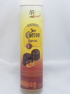 Turin Chocolates Filled with Tequila Jose Cuervo Especial, 7 Oz.