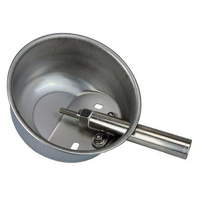 Livestock Stainless Steel Pig Drinker Waterer Water Bowl Automatic Tool Large