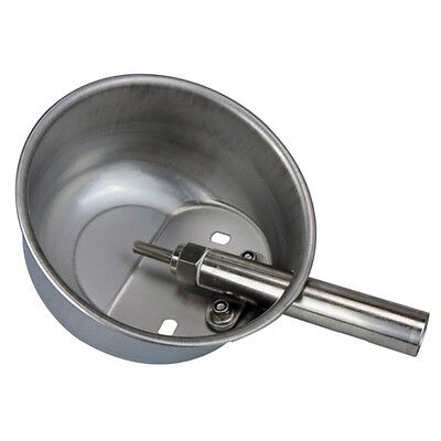 Livestock Stainless Steel Pig Drinker Waterer Water Bowl Automatic Extra Large