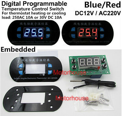 Digital Programmable Temperature Controller Switch Module Temperatur-Schalter
