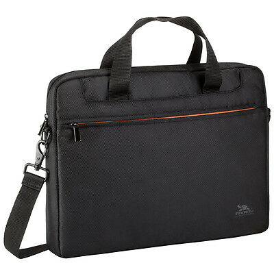 "NEW! Rivacase 8033 Polyester Bag for 15.6"" Laptop Black"