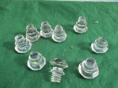 Small Vintage Cut Glass Dresser Knob Handle Pull Drawer Crystal Old    £3.50each