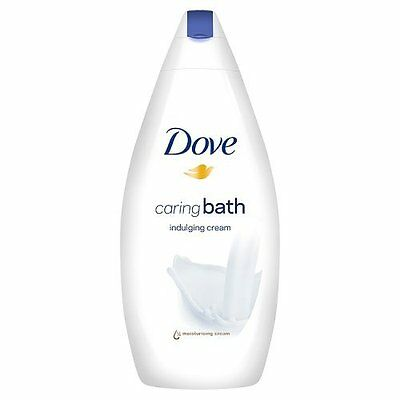 Dove Indulging Cream Caring Bath (500ml) FREE UK DELIVERY
