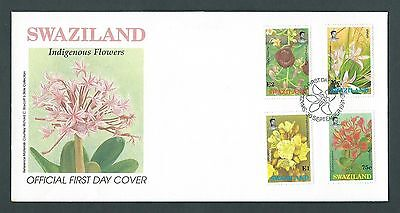 Swaziland 1991 FDC. Indigenous Flowers