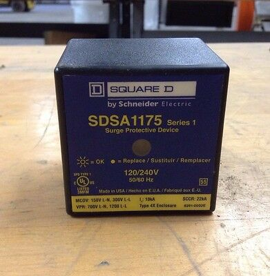 Square D SDSA1175 Series 1 Surge Protective Device- Lot of 10