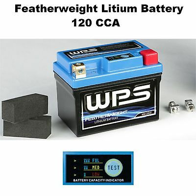 Featherweight Lithium Ion Battery 120 CCA Scooter Light Weight