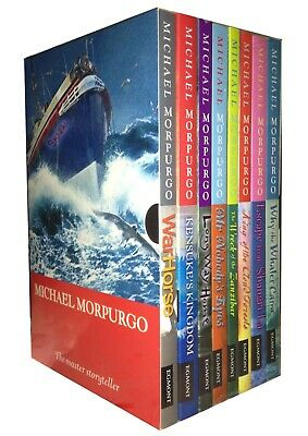 Michael Morpurgo Children Collection 8 Books Box Set (War Horse, Long Way Home)