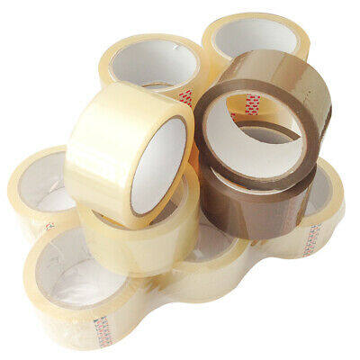 36-2592 Rollen Klebeband LEISE 50 mm x 66 m LOW NOISE PP Packband Paketband