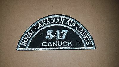 Royal Canadian Air Cadets Patch - 547 North Bay Canuck Large