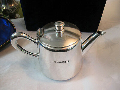 Christofle French Hotel Silver Teapot ~ Large .5 Liter Size