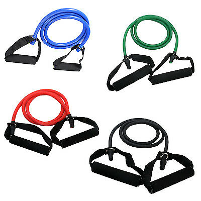 Exercise Resistance Bands Set Yoga Fitness Workout Stretch Heavy Duty Tubes HY