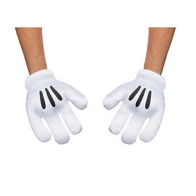 Adult Mickey Mouse Halloween Gloves