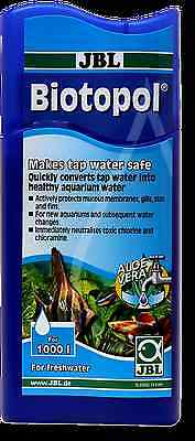 JBL Biotopol Water conditioner for freshwater aquariums 250ML MAKES WATER SAFE