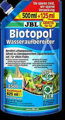 JBL Biotopol Refill Water conditioner for freshwater aquariums REFILL 625M