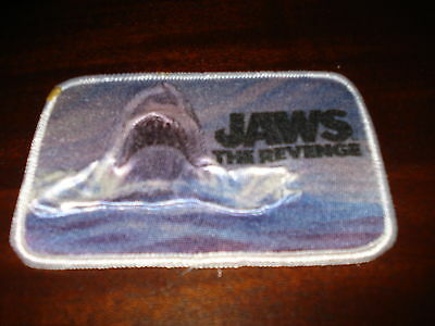 """JAWS THE REVENGE 3-D Patch 3""""H x 4-1/2""""W Very Cool!"""