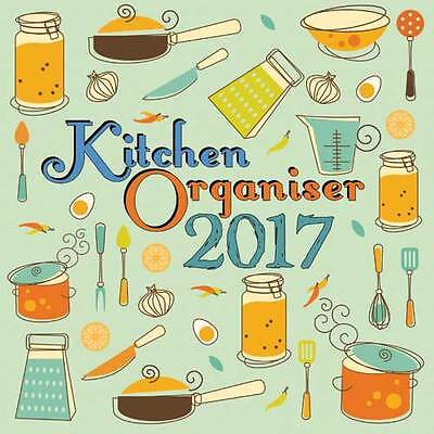 Kitchen Organiser 2017 Wall Calendar NEW by the Gifted Stationery