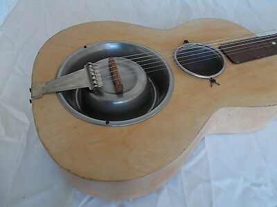 dogfood bowl resonator dobro slideguitar lapsteel Hundfutter Napf cigarbox canjo