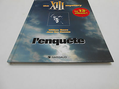 The Xiii Mystery Tome 13 : L'enquete E.o Dargaud