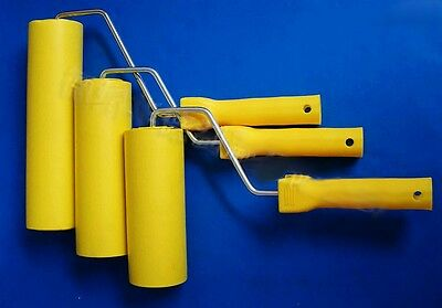 Foam Wallpaper Smoothing Roller Wall Paper Rubber Apply Tool Home Improvement