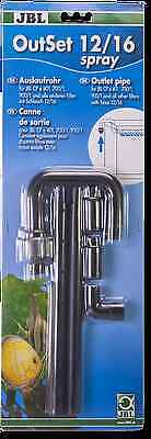 JBL spray bar Water outlet set with 2-part spray bar for aquariums 12/16m pipe