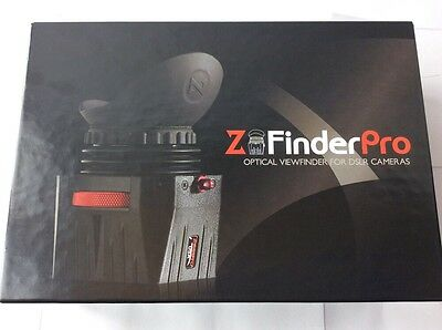 "NEW Zacuto Z-Finder Pro 3x for 3.2"" Screens Sealed"