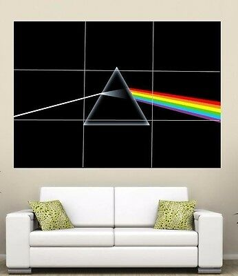 Pink Floyd Giant  Section Wall Art Poster 260gsm