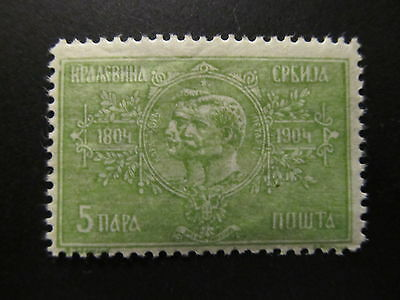 1904 - Serbia - Karageorge And Peter I - Scott 79 A11 5C