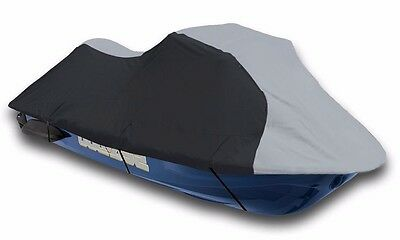 Seadoo Bombardier PWC GT,GTS GTX,GTI Jet Ski Trailerable Cover Black/Grey