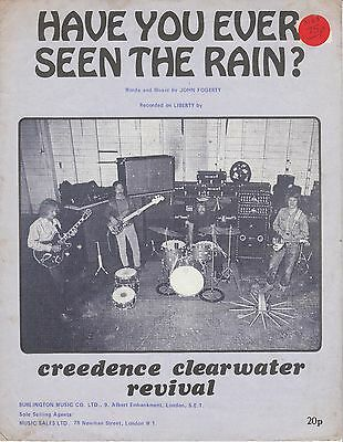 Have You Ever Seen The Rain? - Creedence Clearwater Revival - 1971 Sheet Music