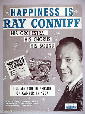 Ray Conniff  PRINT AD - 1966