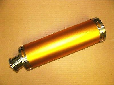 High Performance (Gold) Exhaust Muffler For 50/150Cc Scooters W/ Qmb139 Motors