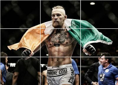 Conor McGregor  UFC/FIGHT/BOXING Giant Section Poster 260gsm