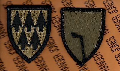 US ARMY 32nd Air Defense Artillery ADA Brigade OCP Hook n Loop uniform patch