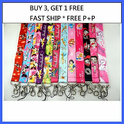 1 x Lanyard, ID Badge card holder, Key Holder Neck Phone Strap Lanyard Cartoon