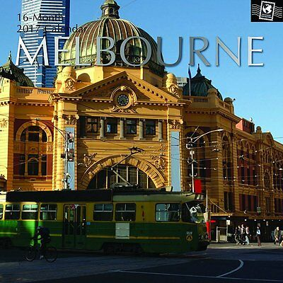 Melbourne 2017 Wall Calendar NEW by the Gifted Stationery