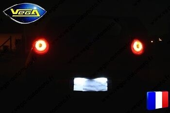 Pack 54 leds 4014 SMD blanc xenon PLAQUES IMMATRICULATION Renault Megane 2 Ph 1