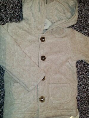 2 × Coat Jacket 6-9 months. 100%Cotton, Soft and snuggly, PROMOTIONAL PRICE