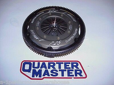 "Quartermaster 7-1/4"" Optimum Triple Clutch w/ NEW Premium 10 Coarse Spline Discs"