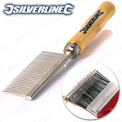 PROFESSIONAL SILVERLINE Paint Brush Cleaning Comb Natural/Synthetic Bristles
