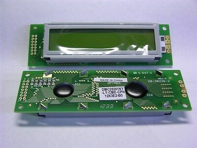 1 Kyocera Optrex DMC20261-LY-CME-CPN 16x2 Character Display Yellow LED Backlight