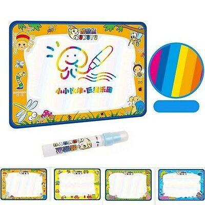 50x34cm Kids Add Water with Magic Pen Doodle Painting Drawing Board Play Mat